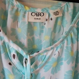 Cato Shirts & Tops - Cato blouse with blue n white flowers